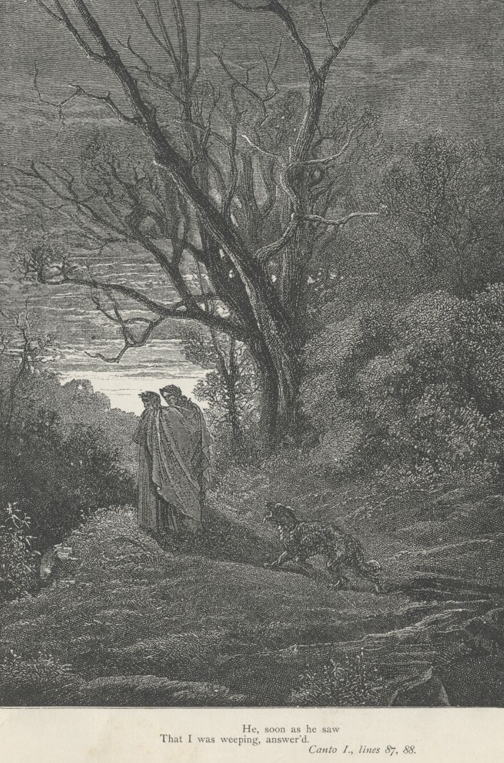 Dore Illustrations from the Divine Comedy - Hell, 01-011.jpg - 662 KB