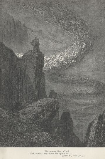 Dore Illustrations from the Divine Comedy - Hell, 05-051b.jpg - 119 KB