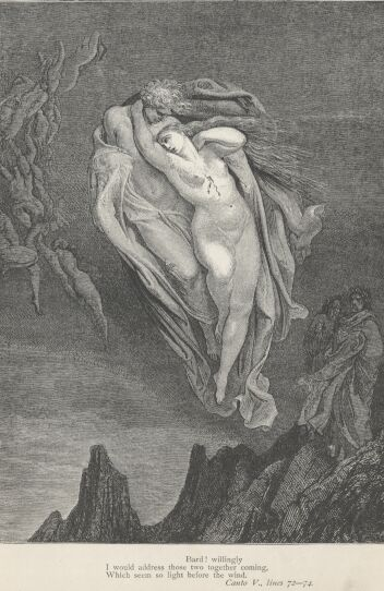 Dore Illustrations from the Divine Comedy - Hell, 05-053b.jpg - 113 KB