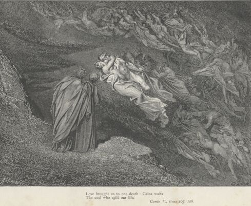 Dore Illustrations from the Divine Comedy - Hell, 05-057b.jpg - 124 KB