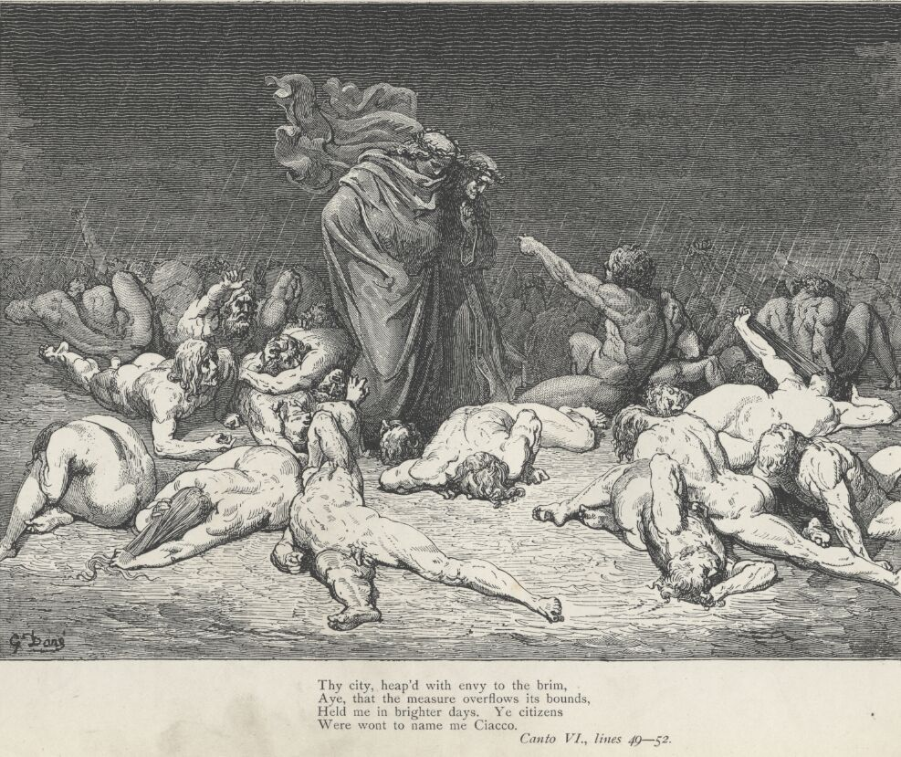 Dore Illustrations from the Divine Comedy - Hell, 06-069.jpg - 631 KB