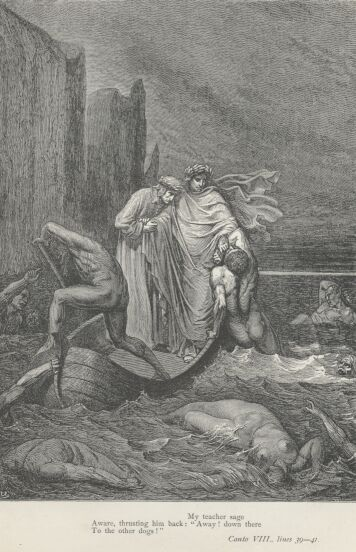 Dore Illustrations from the Divine Comedy - Hell, 08-089b.jpg - 121 KB