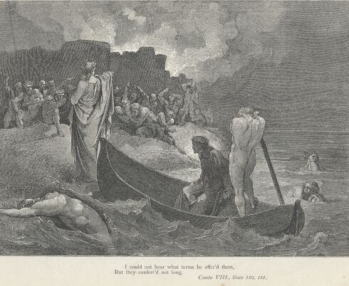 Dore Illustrations from the Divine Comedy - Hell, 08-093b.jpg - 124 KB