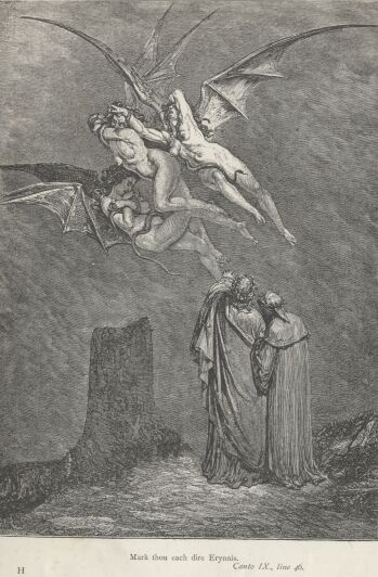 Dore Illustrations from the Divine Comedy - Hell, 09-097b.jpg - 115 KB