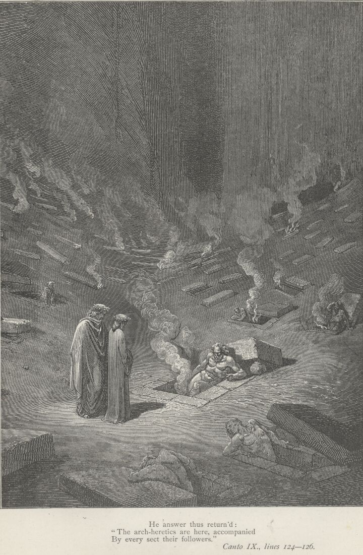 Dore Illustrations from the Divine Comedy - Hell, 09-105.jpg - 575 KB