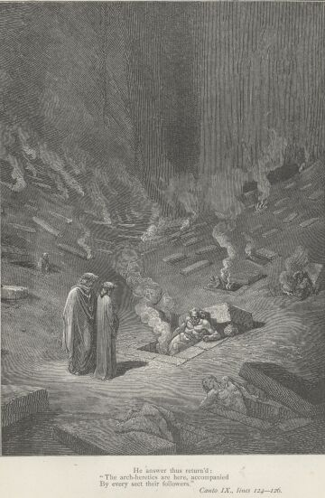 Dore Illustrations from the Divine Comedy - Hell, 09-105b.jpg - 112 KB