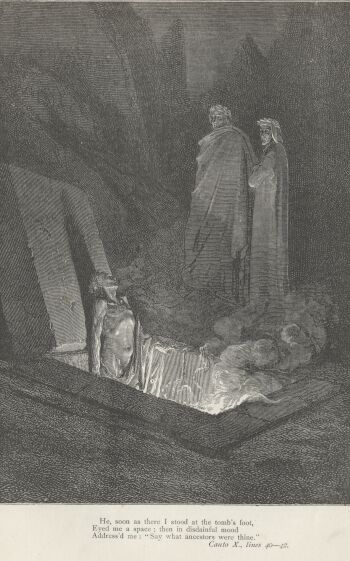 Dore Illustrations from the Divine Comedy - Hell, 10-109b.jpg - 113 KB