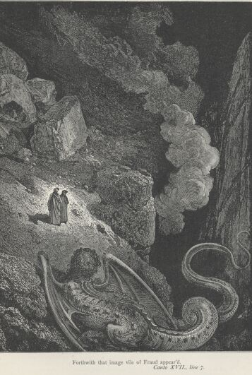 Dore Illustrations from the Divine Comedy - Hell, 17-167b.jpg - 130 KB