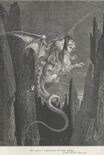 Dore Illustrations from the Divine Comedy - Hell, 17-171b.jpg - 120 KB