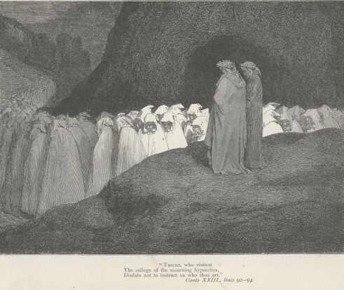 Dore Illustrations from the Divine Comedy - Hell, 23-223b.jpg - 120 KB