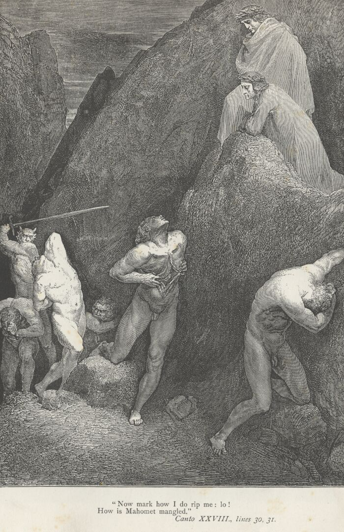 Dore Illustrations from the Divine Comedy - Hell, 28-259.jpg - 663 KB