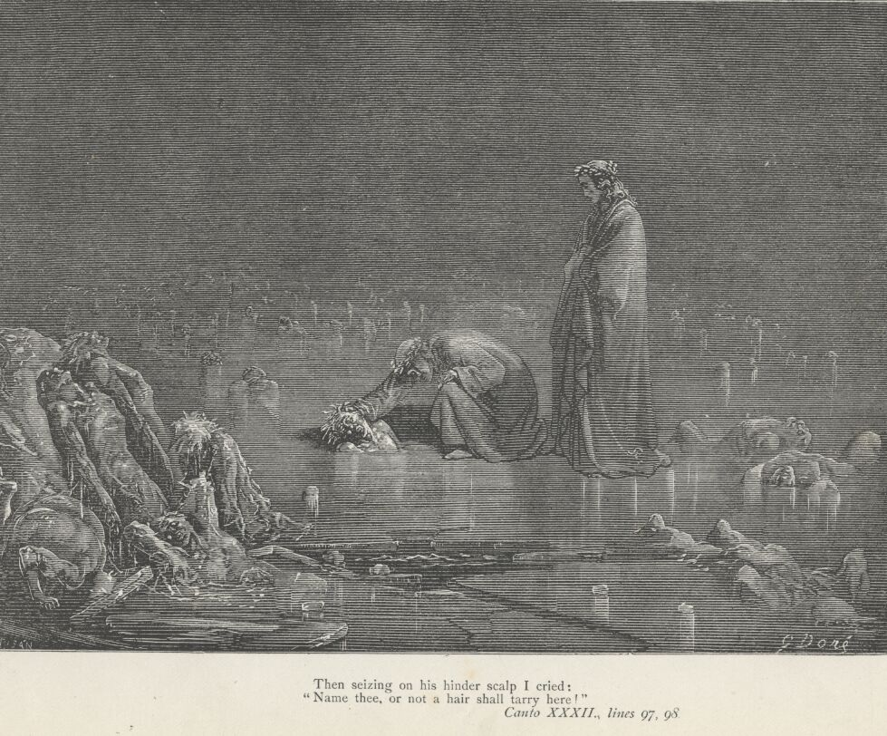 Dore Illustrations from the Divine Comedy - Hell, 32-305.jpg - 490 KB