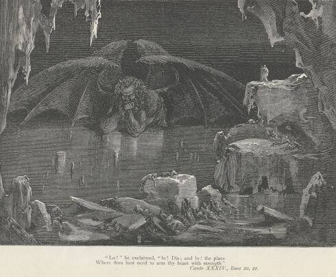 Dore Illustrations from the Divine Comedy - Hell, 34-323b.jpg - 113 KB