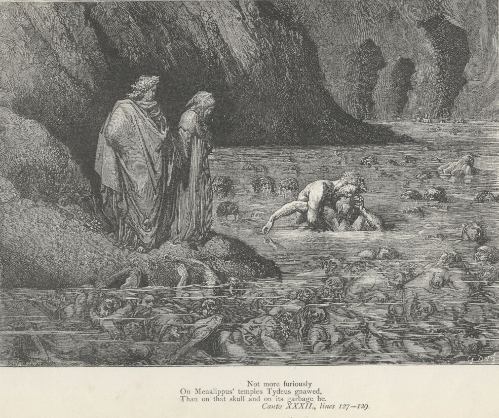 the christian religions view on hell in the poem the divine comedy by dante alighieri
